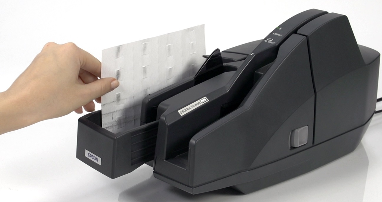 Cheque Reader Cleaning Card
